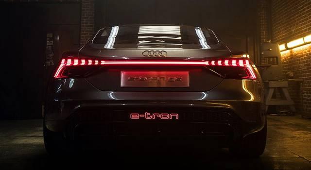 Audi e tron gt 2020